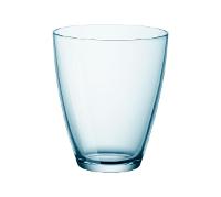 BORMIOLI ZENO BLUE WATER GLASS 400ml
